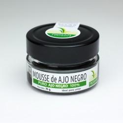 Mousse de Ajo Negro.